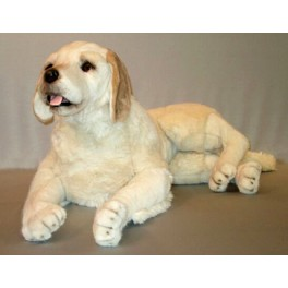 Murphy Labrador Retriever Dog Stuffed Plush Realistic Lifelike