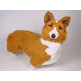 Marlowe Pembroke Welsh Corgi Dog Stuffed Plush Realistic Lifelike