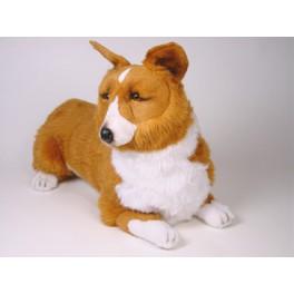 Tasha Pembroke Welsh Corgi Dog Stuffed Plush Realistic Lifelike