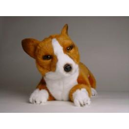 Rascal Pembroke Welsh Corgi Dog Stuffed Plush Realistic Lifelike