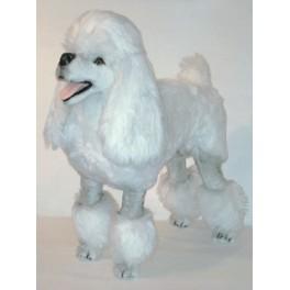 Marilyn Poodle Dog Stuffed Plush Realistic Lifelike Lifesize Animal