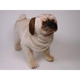 Frank Pug Dog Stuffed Plush Realistic Lifelike Lifesize Animal