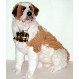 Barry Saint Bernard Dog Stuffed Plush Realistic Lifelike Lifesize