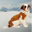 "George 27.6"" Saint Bernard Dog Stuffed Plush Animal Display Prop"