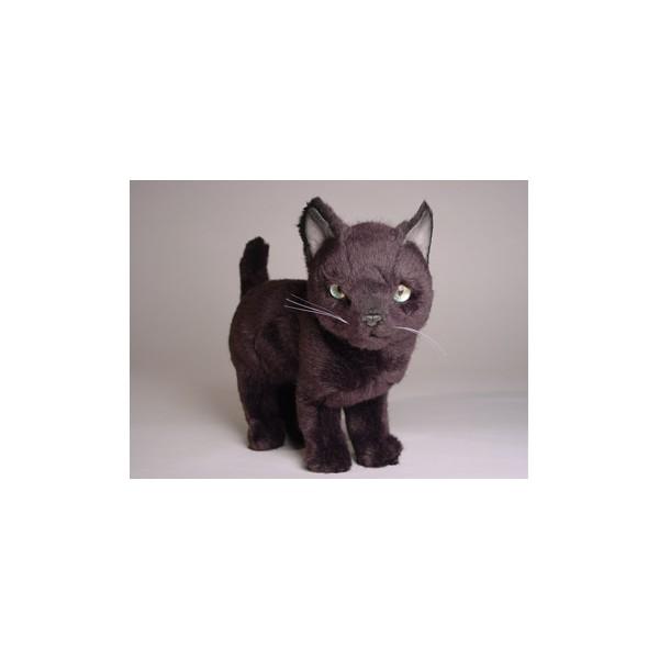 Pushka Russian Blue Cat Stuffed Plush Realistic Lifelike Lifesize