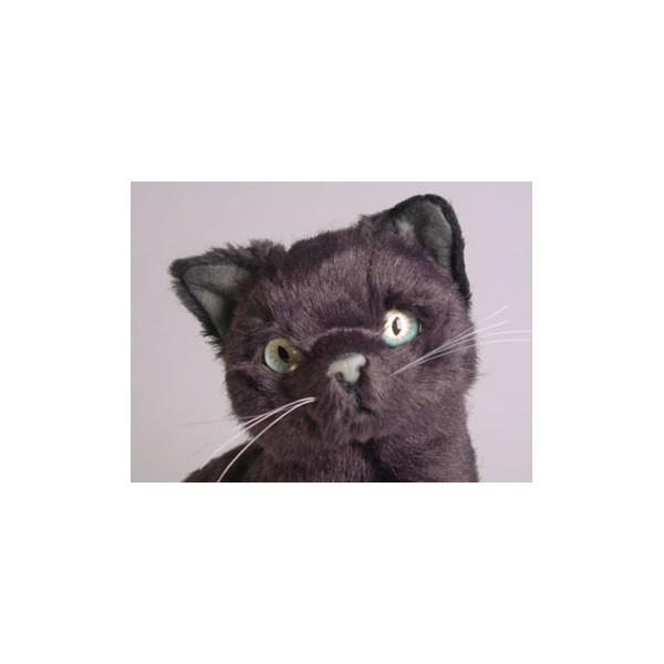 Sneaky Pie Russian Blue Cat Stuffed Plush Realistic Lifelike