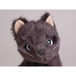 Misty Russian Blue Cat Stuffed Plush Realistic Lifelike Lifesize