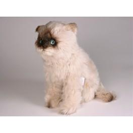 b15163157e11 Teddie Seal Point Himalayan Cat Stuffed Plush Realistic Lifelike ...