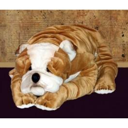 Barbara Bulldog Stuffed Plush Realistic Lifelike Lifesize Animal