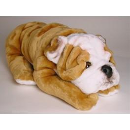 Bystar Bulldog Stuffed Plush Realistic Lifelike Lifesize Animal