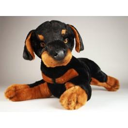 Desoto Doberman Pinscher Dog Stuffed Plush Realistic Lifelike