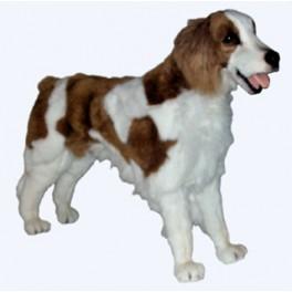 Brittany Spaniel Dog Stuffed Plush